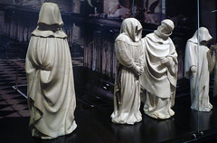 Claus Sluter and Claus de Werve, Mourners from the Tomb of Philip the Bold
