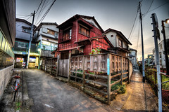 Wooden Japanese House (tokyofashion) Tags: wood japan japanese tokyo nakano woodenhouse hdr 2013 japanesearchitecture
