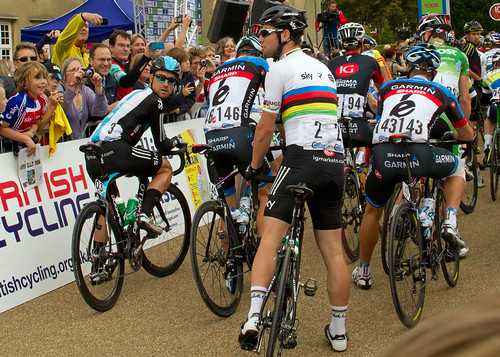 Bernie Eisel & Mark Cavendish-Tour of Britain 2012