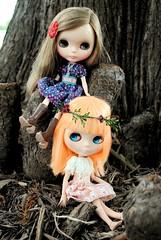 October 2012 Doll Meet - Priscilla and Hindi