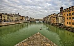 Firenze (danilodld) Tags: bridge italy reflection landscape italia ponte firenze toscana acqua inverno riflessi paesaggio h20 dld 2013 nikond5000 hdrdld