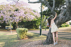 SPRING (byemilygrace) Tags: flowers autumn winter summer cute love coffee dance engagement spring kiss couple seasons younglove romance icecream cuddle splash
