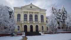 First Gymnasium, Kragujevac (Slavoljub Radojevi) Tags: snow serbia center gymnasium slava srbija sneg kragujevac sumadija gimnazija akitrg prvakragujevakagimnazija