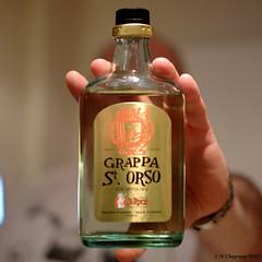 Grappa (Chapmanc123) Tags: uk field 35mm square manchester photography bottle italian italia fuji dof hand drink bokeh spirit f14 beverage tasty valley format 35 fujinon depth grappa xf daosta xe1