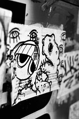 UWP x R2F! x Pnub (damonabnormal) Tags: street city blackandwhite bw streetart philadelphia graffiti nikon sticker stickers january streetphotography urbanart philly phl slaps urbanite stickergraffiti uwp citystickers underwaterpirates 2013 uwp33 d7000 r2f