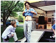 Seth Moving to Chicago 1994 (swanksalot) Tags: vw austin volkswagen moving seth vinyl andrew nostalgia scanned van 1994 southaustin deannamiesch