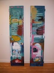 """Us and them"" by Glenda Vilisoni (2007) (Fresh Gallery Otara) Tags: niue otara southauckland pacificart freshgalleryotara glendavilisoni"