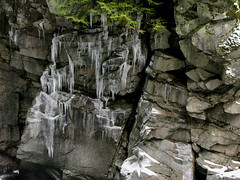 Rock and Ice (Dru!) Tags: canada ice hope bc britishcolumbia crack icicle granite coquihalla cracked joint northcascades cascademountains fraservalley jointed othellotunnels hopebc quintette