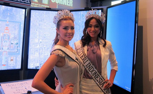 Miss Universe Olivia Culpo and Miss Indonesia Whulandary Herman Host Program to Raise Awareness about AIDS