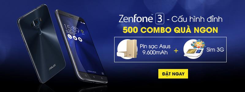 Đặt trước Asus Zenfone 3 - nhận quà liền tay