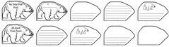 Polar Bear Shape Book (CHSH - Christian Home School Hub) Tags: polar bears shapebooks creativewriting