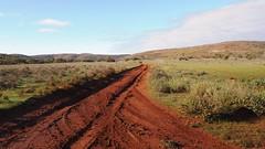 Chillunie turn-off, Gawler Ranges National Park (PR Day) Tags: gawlerranges southaustralia outback dirtroad mud