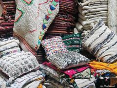 Textures of Marrakech (Shahrazad26) Tags: marokko maroc morocco marrakech fabrics stoffen