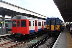 7108 5920 (matty10120) Tags: train transport rail railway clas class d stock district line 455 wimbledon