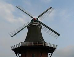 Greetsiel twinmill - Green Mill from 1856 (achatphoenix) Tags: greetsiel zwillingsmhlen twinmills weitwinkel krummhrn eastfrisia ostfriesland lowersaxony moulinvent windmill windmills