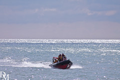 Mundesley 4 (davemoly17) Tags: davidmolyneuxphotography sea seaside beach beachhuts coast sand groynes waves water mundesley norfolk lifeboat sunny canon eos 1100d sigma wideangle