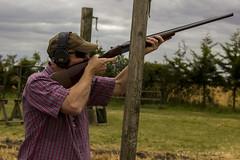 Mick (jasonpeachey901) Tags: shooting shotgun shoot sport sporting outside farm farmsport man masculine skeet clay clays claypigeon claypigeonshooting sportphotography