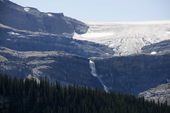 Bow Glacier DSL4120 (iloleo) Tags: glacier waterfall snow summer banffnationalpark bowlake nature canada scenic landscape nikond7000 mountains