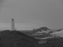 IMG_8365 (NapoleonIsNotDead) Tags: iceland islanda summer wonders natural landscape peninsula reykjanes lighthouse smoke power plant geothermal energy station