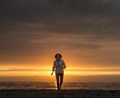 My Love (nokkie1) Tags: holland scheveningen beach sunset romantic woman love