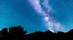Our Galaxy - The Milky Way (JarrodLopiccolo) Tags: themilkyway galaxy raymondlake sierranevada california stars night mountains trees sierras hiking camping natur contrast sky nature light
