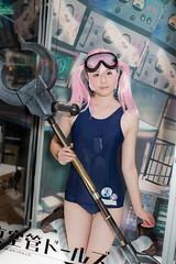 Shinkukan Dolls -C90 Company Booth (Ariake, Tokyo, Japan) (t-mizo) Tags: sigma2435mmf2dghsmart sigma sigma2435f2 sigma24352 sigma2435mm sigma2435mmf2 sigma2435mmf2dg sigma2435mmf2dgart sigma2435mmf2art art person ポートレート portrait women woman girl girls キャンペーンガール キャンギャル campaigngirl showgirl コンパニオン companion cosplay コスプレ レイヤー cosplayer コスプレイヤー canon canon5d canon5d3 5dmarkiiii 5dmark3 eos5dmarkiii eos5dmark3 eos5d3 5d3 lr lr6 lightroom6 lightroom lrcc lightroomcc tokyo japan daiba odaiba お台場 ariake 有明 日本 台場 東京 ビッグサイト bigsite 国際展示場 コミケ comicmarket comike c90 comicmarket90 コミックマーケット コミックマーケット90 夏コミ