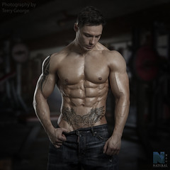 Ryan Maude NFM (TerryGeorge.) Tags: natural fitness models abs sixpack toned athletic shirtless male fit terry george