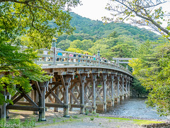 Ise Shrine , Bridge (patuffel) Tags: japan ise iseshima shrine wodden bridge forrest green grand g7 jingu naiku
