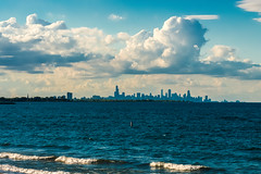 Chicago After a Storm (AlCastelan21) Tags: skyline clouds lake water chicago