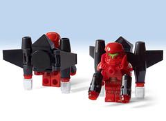 GT Exo-Suit - Sky Vanguard [a LEGO Ideas project] (Lilac Hat Brick) Tags: lego exosuit alien mech mecha robot galaxytrooper space neoclassicspace scifi sciencefiction future