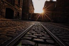 Guinness Railway (Colin Kavanagh) Tags: guinness railway rail cobblestone gate dublin ireland stjamesgate tourism bike sunshine lensflare flare stone ngc the world is beautiful