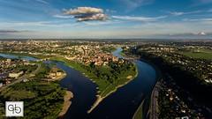 Confluence of Nemunas and Neris. Kaunas, Lithuania. (GT Media) Tags: planetearth confluence rivers neris nemunas kaunas aerialphotography aerial dronepfotography djiphantom4 dji drone