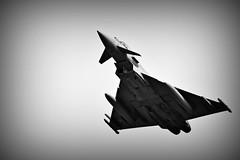 Skywards (Steve.T.) Tags: riat16 riat eurofighter typhoon fastjet raf blackandwhite bnw militaryaviation flying nikon d7200 sigma70300 aeroplane aircraft militaryaircraft mono aviationphotography