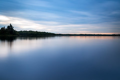 Two Island Lake Minnesota (trevorklatko) Tags: outdoor minnesota north shore mn usa landscapes lake blue hour sky serene longexposure