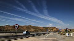 (44/62) N-II (ponzoosa) Tags: relative nomadism a2 castilla len autova 100 autopista motorway aragn