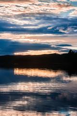 IMG_1510-1 (Andre56154) Tags: schweden sweden sverige see lake wasser water ufer wolke cloud himmel sky dmmerung dawn evening abend sonne sun spiegelung afterglow sonnenuntergang sunset reflection
