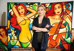 Ekaterina Mor (ekaterina_more_art) Tags: artist art artcollection gallery artgallery artiststudio knsterin skulpturen artobject artobjects malerei redwine wine painting paintings workinprogress