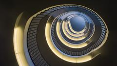 Regierung von Oberbayern #1 (Thierry Hudsyn) Tags: regierungvonoberbayern munich stairway staircase escalier architecture sony a6000 sel1020mm