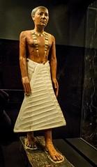 Funerary portrait statue of Metjetji Saqqara Egypt Old Kingdom probably late 5th Dynasty 2375-2345 BCE Wood (mharrsch) Tags: portrait sculpture funerary man male saqqara egypt ancient oldkingdom 5thdynasty 24thcenturybce statue nelsonatkinsmuseum kansascity missouri mharrsch