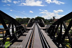 Bridge on the River Kwai (SleekViv) Tags: bridge thailand nikon riverkwai d90