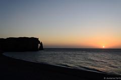 Sans Titre (Antarius7691) Tags: sunset france public safe paysage étretat hautenormandie 1855mmf3556 nikond5100 antarius7691 gaylordgirard 46ruegénéralleclerc