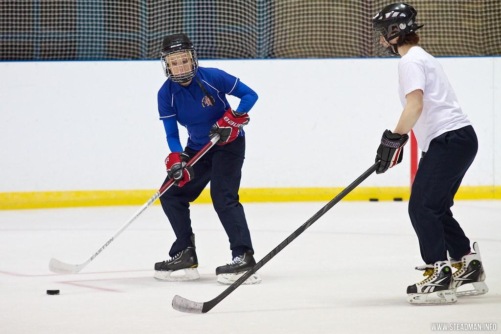 EIHA Girls Hockey Day by davidgsteadman, on Flickr