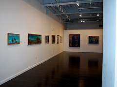 Carlos Almaraz Art Exhibit