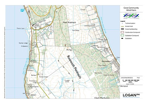 rosneath map
