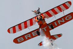 Bournmouth 20120001_141 (snapperglenn) Tags: red display hawk air wing jet arrows brave walkers bournmouth biplane 2012 steerman bretling