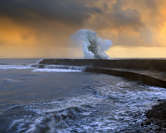 (peterspencer49) Tags: ocean seascape storm southwest coast movement waves stormy dorset cobb coastline oceanview lymeregis lyme seaview coastalpath westcountry southwestcoast jurassiccoast dorsetcoast southwestcoastalpath seascene 5dmarklll