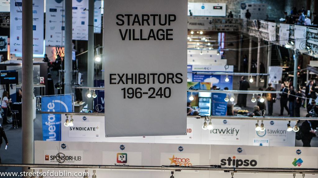 Startup Village: Web Summit 2012 In Dublin (Ireland)