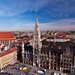 Marienplatz,heart of the city of Munich