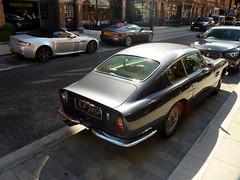 Aston Road (BenGPhotos) Tags: london classic car silver grey martin s british v8 aston spotting vantage combo roadster v12 vanquish db6 superleggera mjf345f
