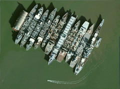 Mothball fleet aerial (Konabish ~ Greg Bishop) Tags: abandoned northerncalifornia ships rusty maritime pollution artillery crusty polluted mothballfleet derelicts navyships suisunbay nationaldefensereservefleet 16inchguns ghostfleet usnavyships marad mainguns beniciacalifornia readyreservefleet suisunbaycalifornia mothballfleetsuisunbaybenicia californiabb61ussiowaaerialphotography 3806899063966112209780216217 16inchrifle